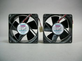 Mechatronics Lot of 2 F1238X12B1 Fan 12V 0.95 Amp - New