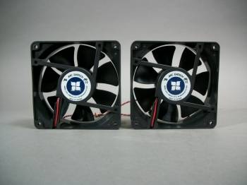 JMC Datech 1238-12HB Fan Lot of 2 12V 0.9 Amp - New