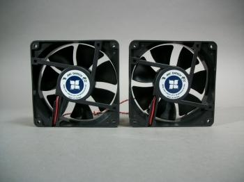 JMC Datech 1238-12HB Fan Lot of 2 12V 0.9 Amp - New