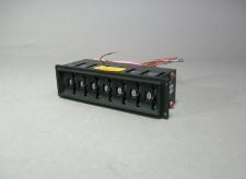 Digitran 2-D-237C ThumbWheel Switch 7 Ports Meter M-22710/15-097 - New