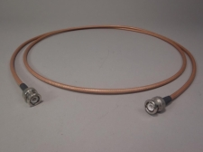 """Thermax Cable RGU-400 12814 M17/175-00001 MIL-C-17G BNC Male to Male 65"""""""