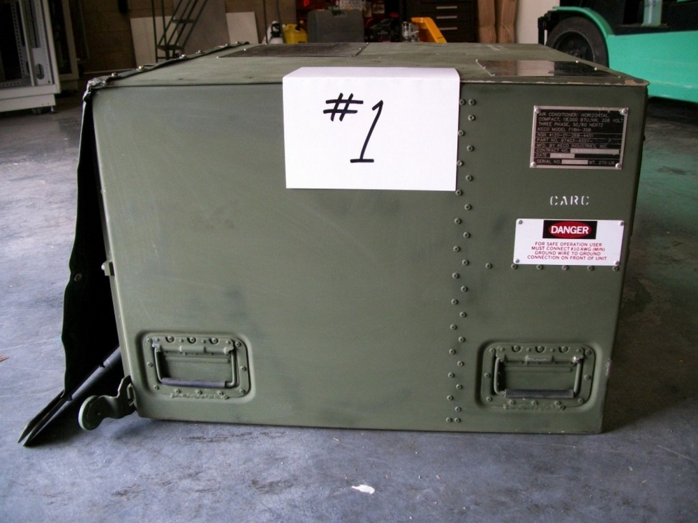 Air Conditioning Tools >> KECO F18H-3SB Military Style Air Conditioner Unit 4120-01 ...