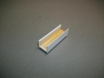 Lot of 32 FCI HM2P08PD5111E9 Millipacs 2 mm Hard-Metric Signal Connector 125 POS