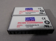 MARTEK POWER DC-DC single output Converter 1505S48HN-R  - Lot of 2 - NEW!