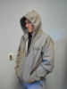 DISH® SHOWTIME® Gray Zip-up Hoodie Sz: Small