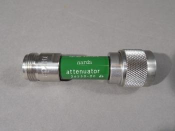 Narda Y9305 Attenuator26550-20 db Fluke