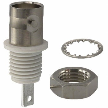 Amphenol 31-10 Isolated Ground BNC Bulkhead Adapter
