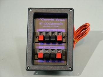 Cerwin Vega Sub Woofer 250 watt Crossover