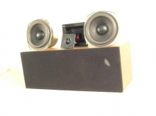 Boston Acoustics Dual 4.5 inch Woofer Center Channel Kit with Red Oak Cabinet