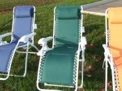 Zero Gravity Lounge Chair Green