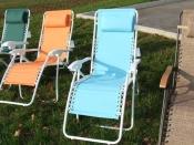 Zero gravity Lounge Chair Teal