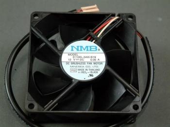 NMB 80 MM Fan 3110-04W-B19 12 VDC Case Fan