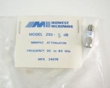 Midwest Microwave 292 Minipad Attenuator