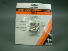 Paladin PA 9512 BNC Crimp Style Plug for RG58 ( 5 pieces )