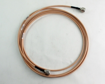 Huber + Suhner RF Cable Assembly RG142 Type N 12'