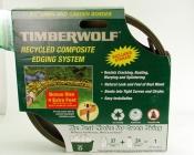 Timberwolf/Smart Edge Lawn Edging/Border GREEN 20' Feet Lot of 2