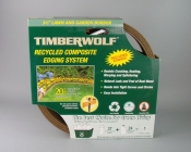 Timberwolf/Smart Edge Lawn Edging Border BROWN 20' Feet Lot of 2