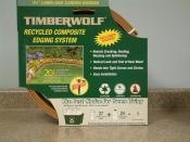 NEW Timberwolf/Smart Edge Lawn Edging Border Red 20' Feet Lot of 2