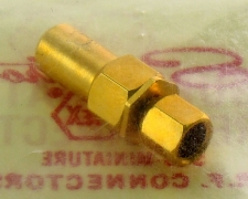 Sealectro Dummy Load SMC Male (Socket Contact) Gold Plated Conhex 60-01-510-04