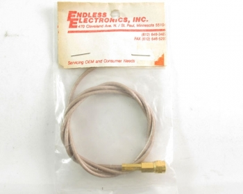 SMA/P Crimp to Open Ended on RG316 Cable 2Ft Cable Assy