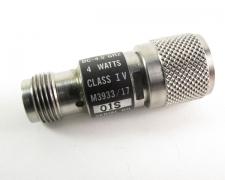 Aeroflex/Weinschel M3933/17-01S Attenuator 1dB 4 Watts