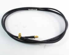 """Rosenberger 993960B SMA/F to R/A Cube SMA/M 79"""" Gold Cable Assembly"""