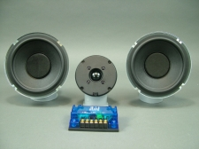 "Mavin 6.5"" Dual Woofer Tower Speaker Kit with Plans 250 watts, 32 Hz. to 22 kHz."