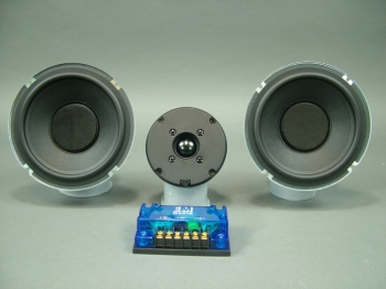 "Mavin 6.5"" Dual Woofer Tower Speaker Kit with Plans 250 watts, 32 Hz. to 22 kHz."