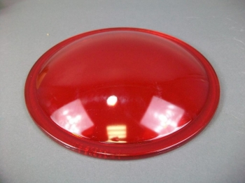 Runway Landing Approach Light Lens Cover MS24489-1 Red Glass