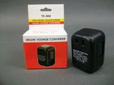 Lot of 3 Deluxe Voltage Converters TC-50d