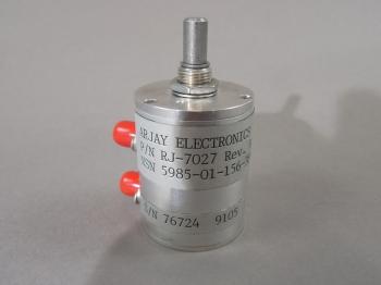 Arjay RJ-7027 Variable/Step Attenuator 1W-100W 0Hz-2GHz 50 Ohms 0.3dB NEW